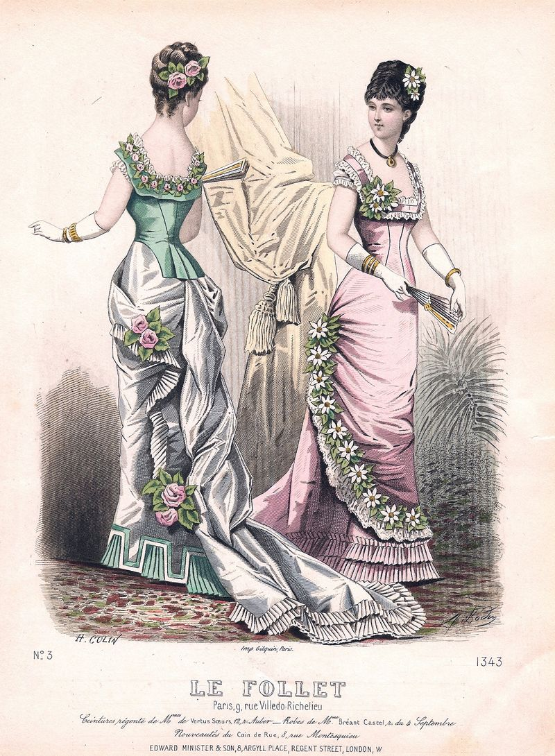 French fashion plate 002