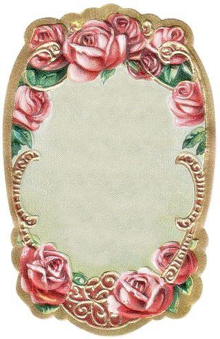 Myartsdesire.typepad rose label blank