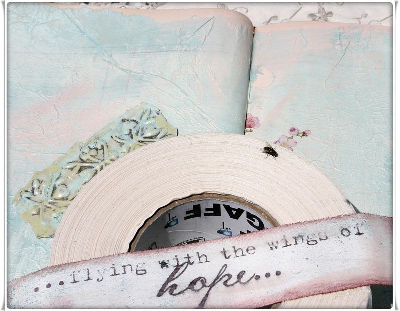 Art journal gaffer tape 057